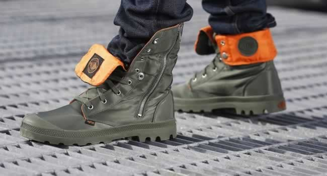 Palladium Boots x Alpha Industries