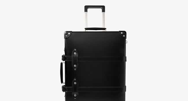 Globe-Trotter x Mr Porter Suitcases