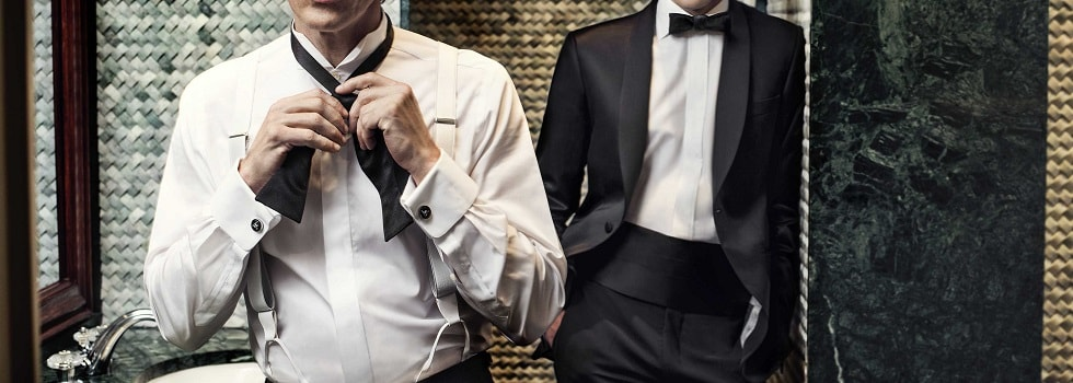 How to Dress for 'Black Tie Optional'
