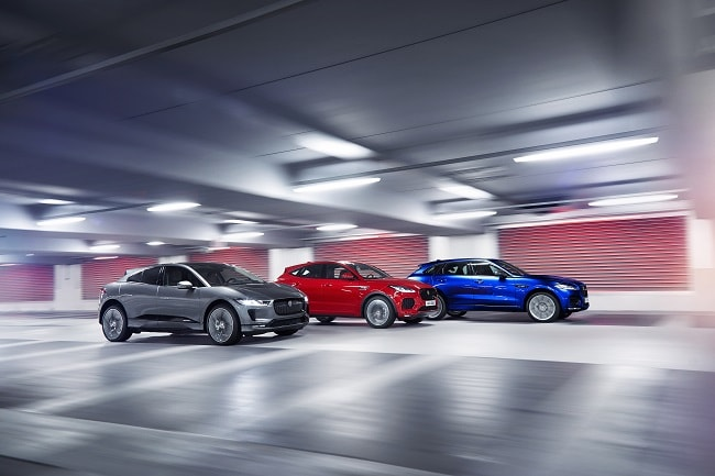 Jaguar Reveals All-Electric I-Pace