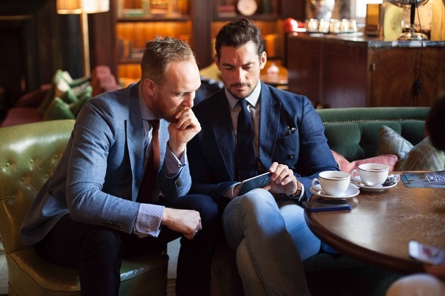 Joe Ottaway & David Gandy