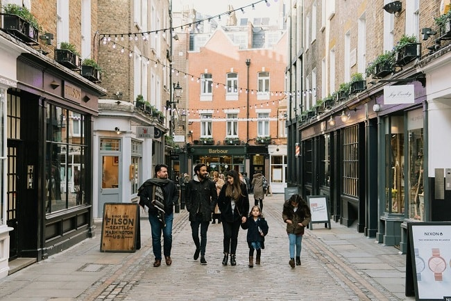 Why You Should Visit London's Newburgh Quarter