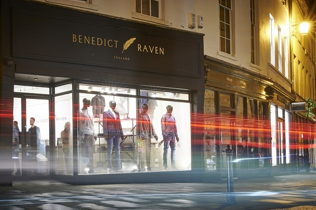 Benedict Raven Launches First Store in Bath