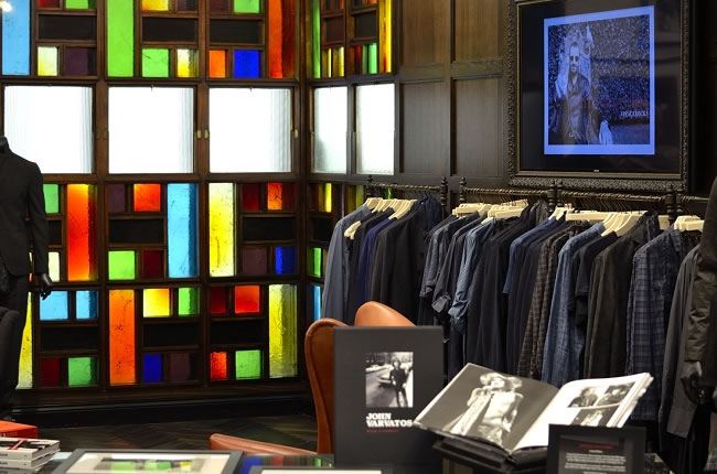 John Varvatos Open First European Store in London