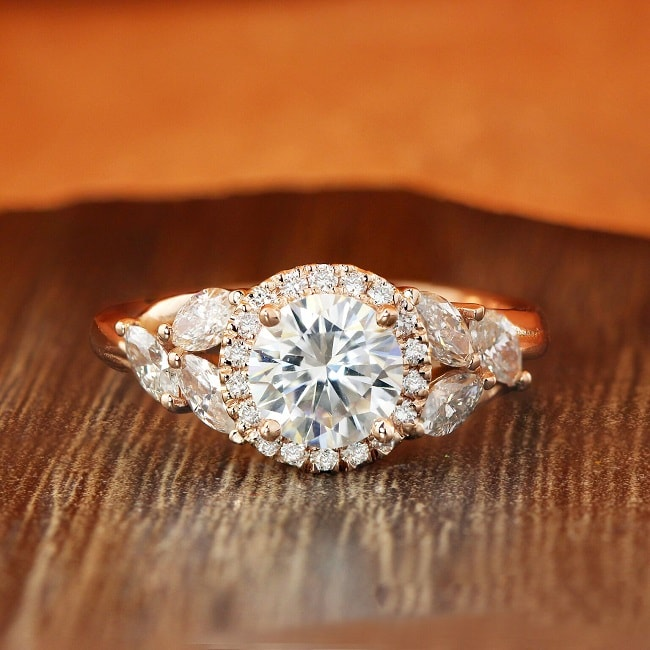 This may look like a diamond engagement ring, but its price tag says otherwise