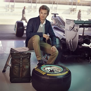 Tumi announce F1 driver Nico Rosberg as global citizen
