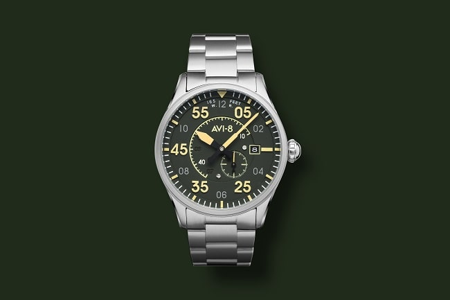 Introducing the AVI-8 Spitfire Type Watch