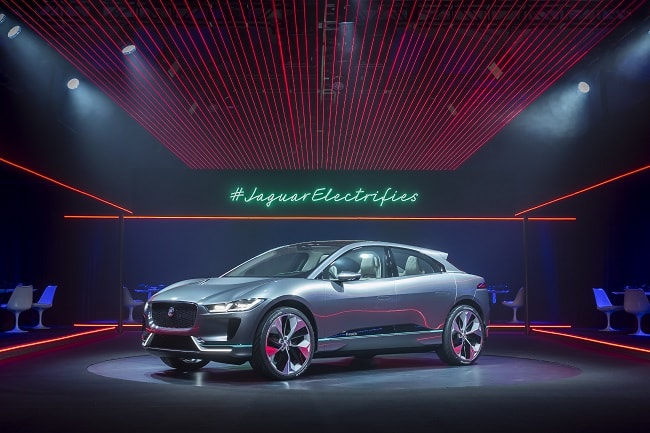 Jaguar Reveals the I-Pace Concept