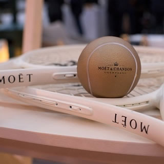 Moet Hennessy Roll Out The Red Carpet at Roland Garros
