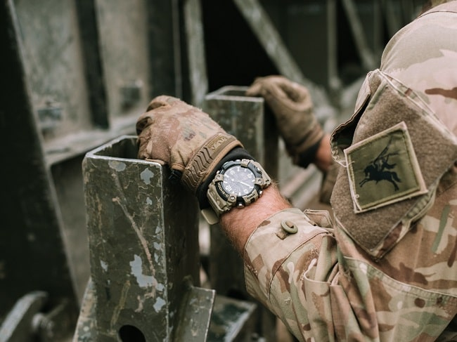 British Army x G-Shock