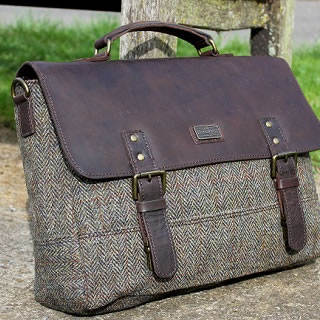 Win a £225 Harris Tweed Satchel