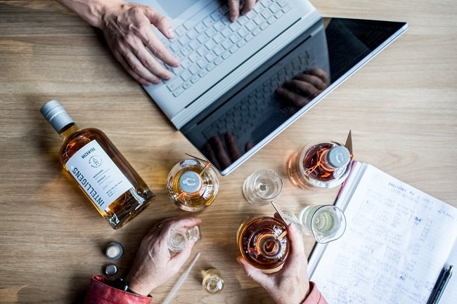 Behold the World's First AI whisky by Mackmyra