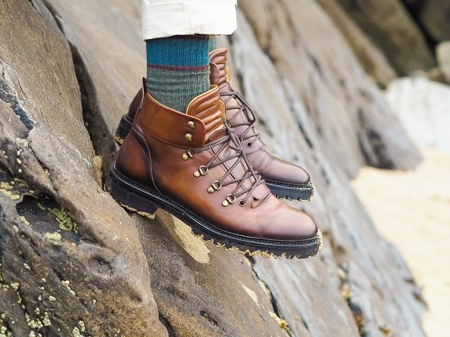 Oliver Sweeney Gandini Boots at Slea Head Beach