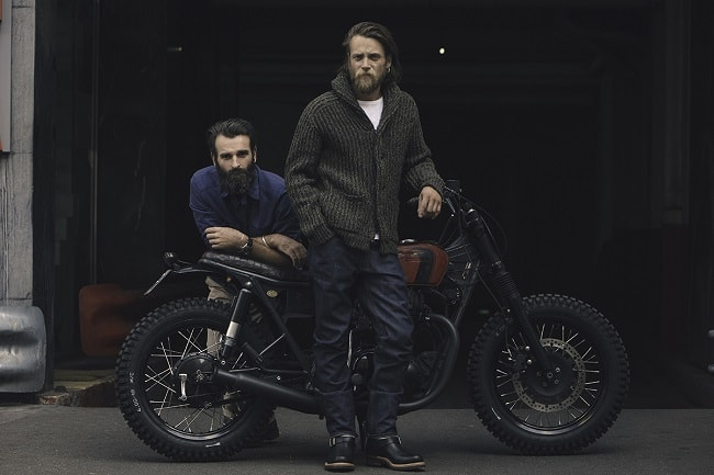 R.M.Williams Partners with Blitz Motorcycles