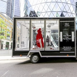 Win a Sueted Mobile Pop-Up Shop Worth £1200
