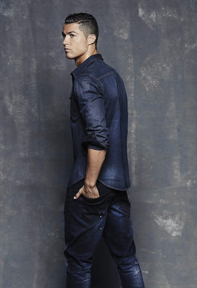 Cristiano Ronaldo Launches CR7 Denim