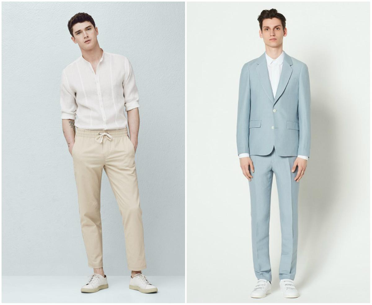 How Men Should Wear Linen for SS18