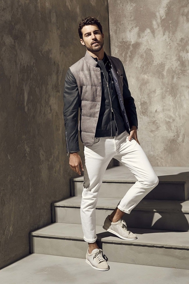 How Men Should Wear White Denim