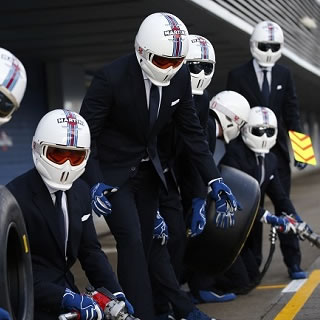 Clothes Maketh the F1 Pit Crew
