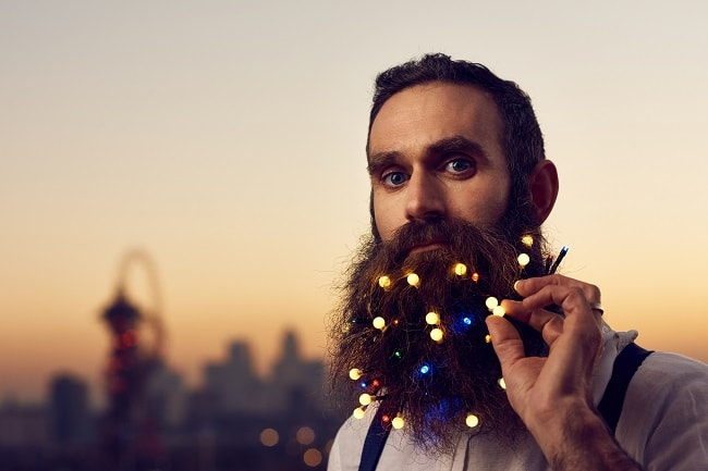 Are Beard Lights The New Facial Hair Trend?
