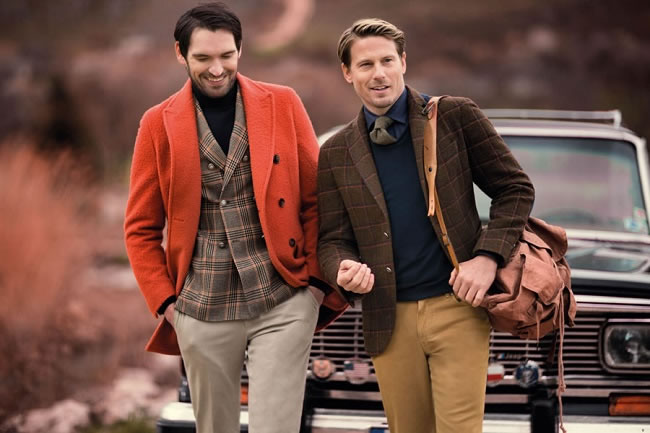 How to Wear Colour in Winter