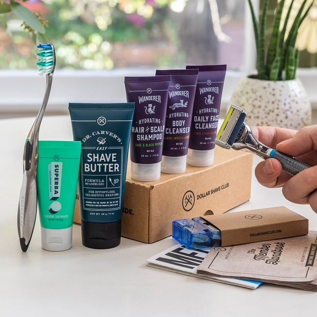 Dollar Shave Club Launch Grooming Starter Sets
