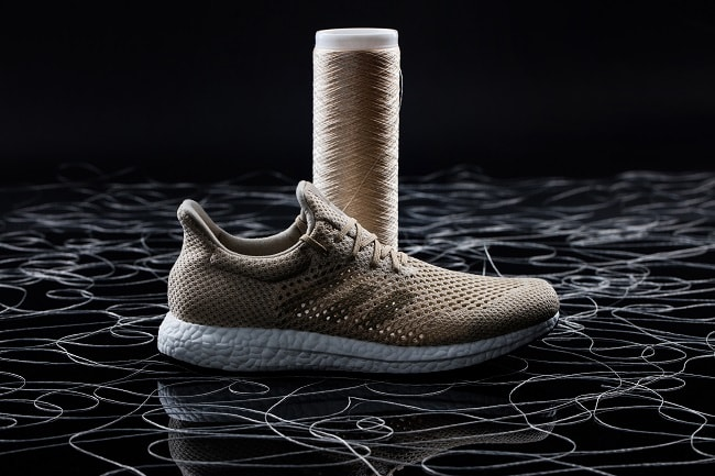 Adidas Unveils Sneaker Made From Biosteel Fiber