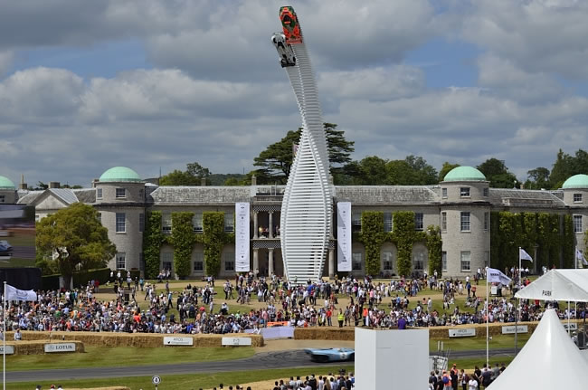 Goodwood Festival of Speed with Ford