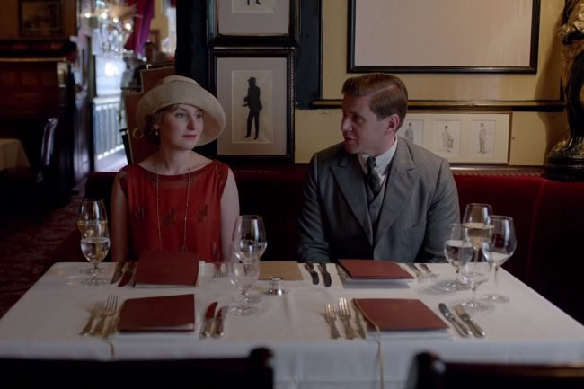 Downton Abbey at Rules Restaurant