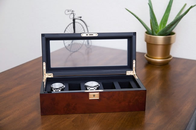 The Savoy watch box up for grabs!