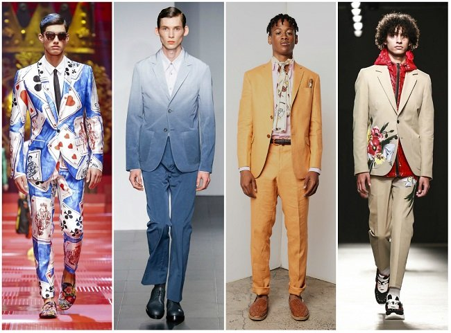 Colourful, Casual Suits