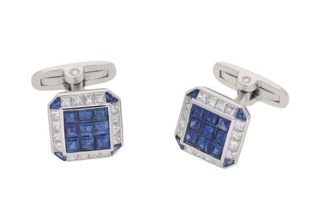 A beautiful example of vintage cufflinks