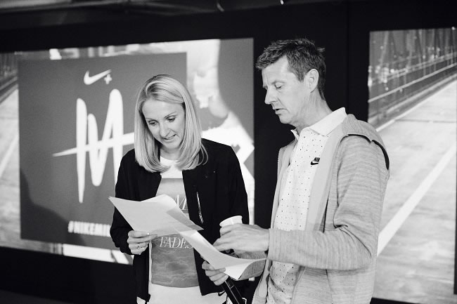 Nike Milers Campaign Training Event