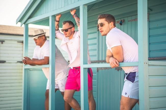 Discover Randy Cow Swim Shorts