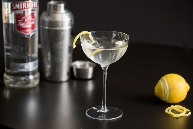 The Vesper Cocktail