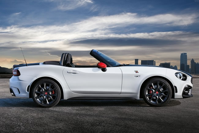 The Abarth 124 Roadster