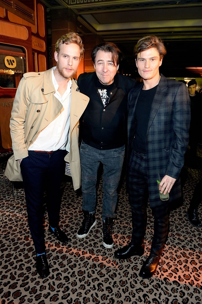 Jack Fox, Jonathan Ross & Oliver Cheshire