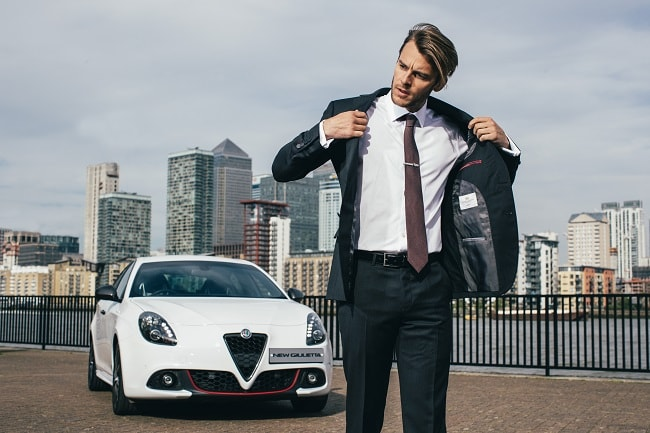 Alfa Romeo x Hawes & Curtis High Performance Suit