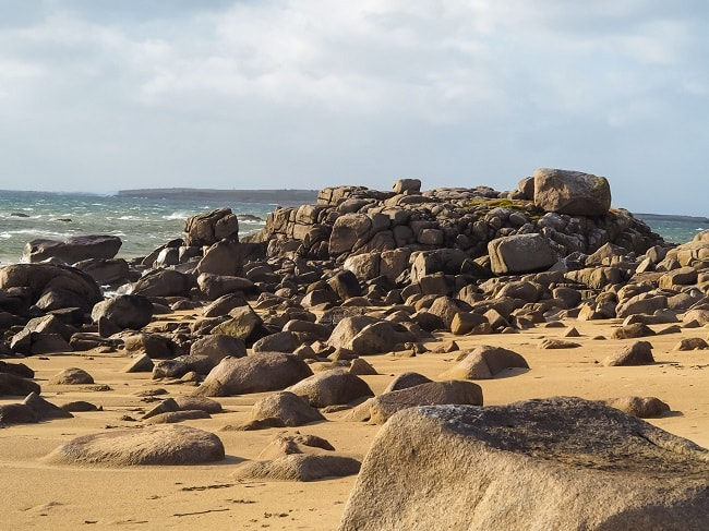 One of the many beaches near Gweedore