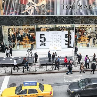 Topman Opens 5th Avenue New York Store