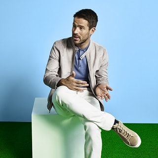 Jamie Redknapp on Being the New Face of Burton Menswear