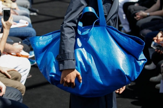 Balenciaga £1,600 blue Tote bag