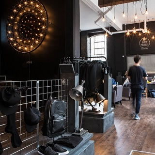 Lynx Black Space Opens in Brick Lane