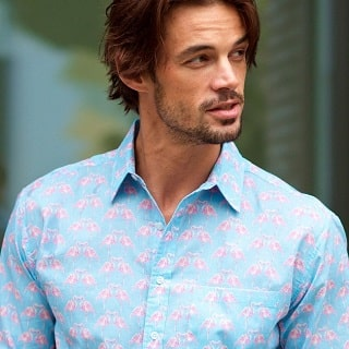 Win 2 Men's Frangipani Shirts Worth £150