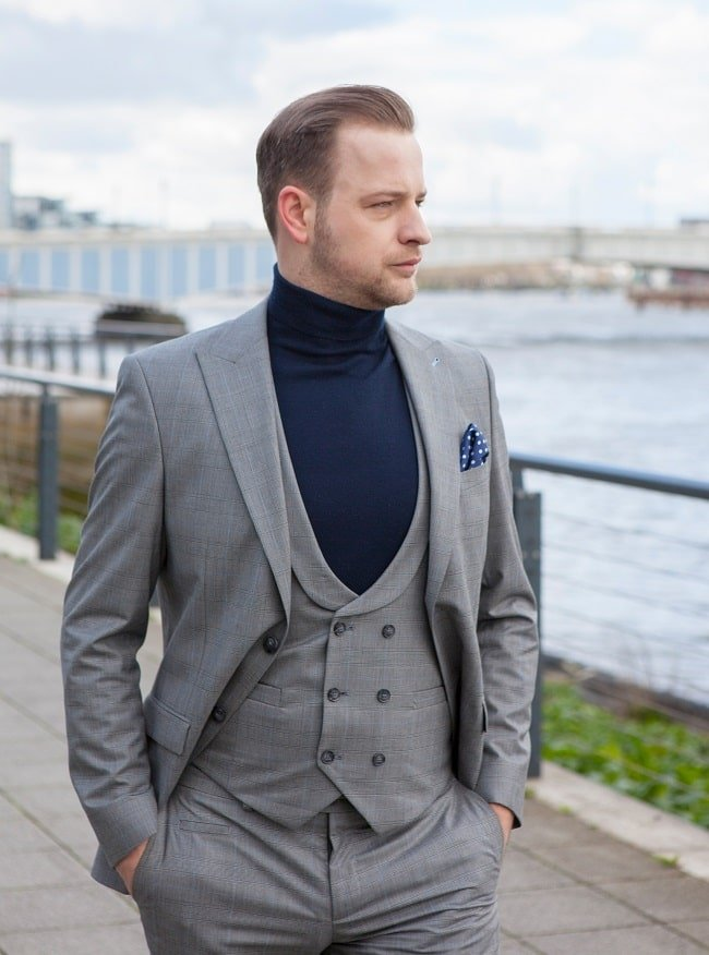 Reinventing the 3 Piece Suit for the Modern Gentleman
