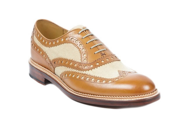 For The Gatsby Guy (Charsfield tan leather brogues)