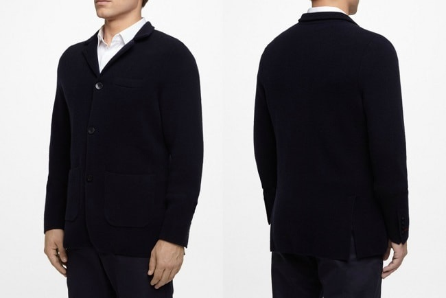 Milano Knitted Cashmere Jacket