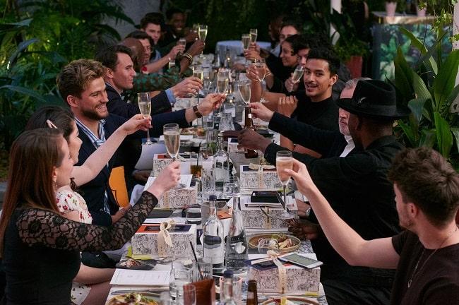 Far From Lost Host Men's Fashion Week Dinner at Sanderson Hotel