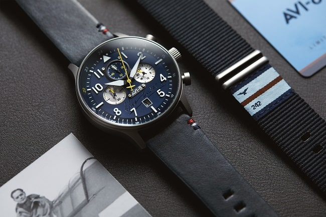 AVI-8 X Douglas Bader Chronograph Limited Edition