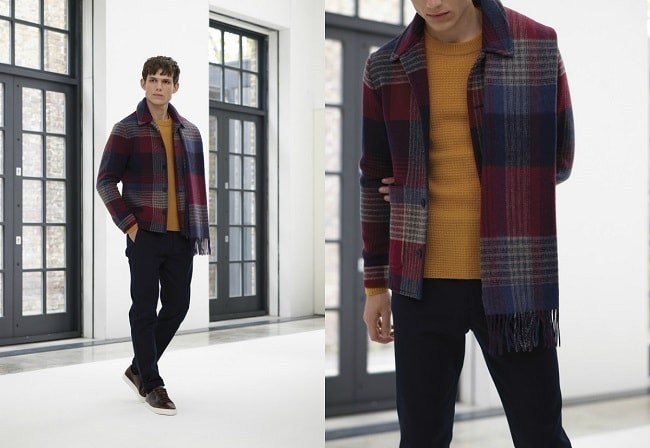 Italian Blanket Check Chore Jacket